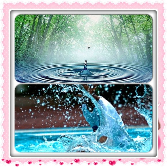 About the power of water and your body