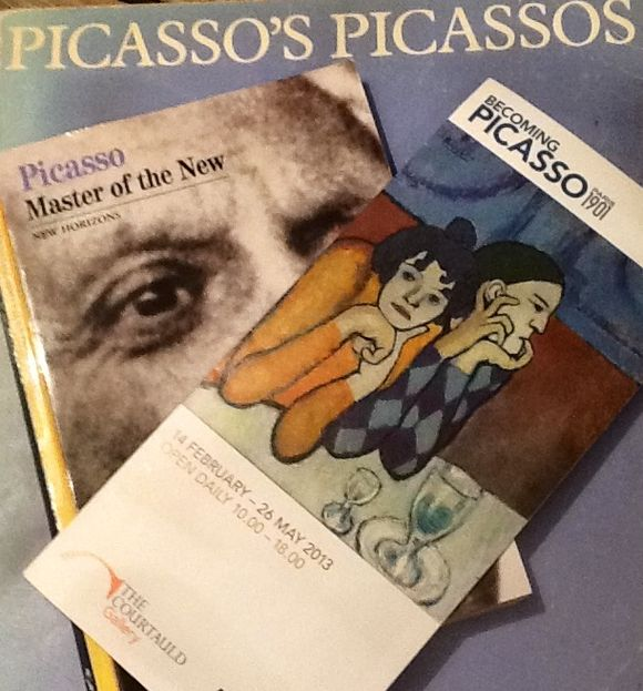 Becoming Picasso - exposition at the Courtauld Gallery