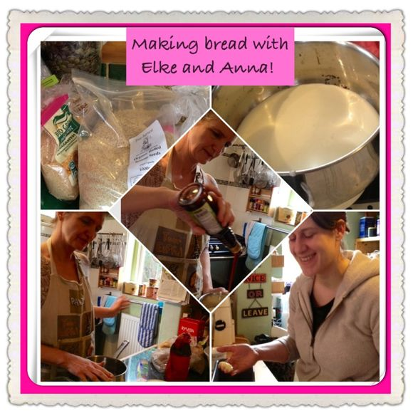 Baking German bread, the power of women, mini retreats